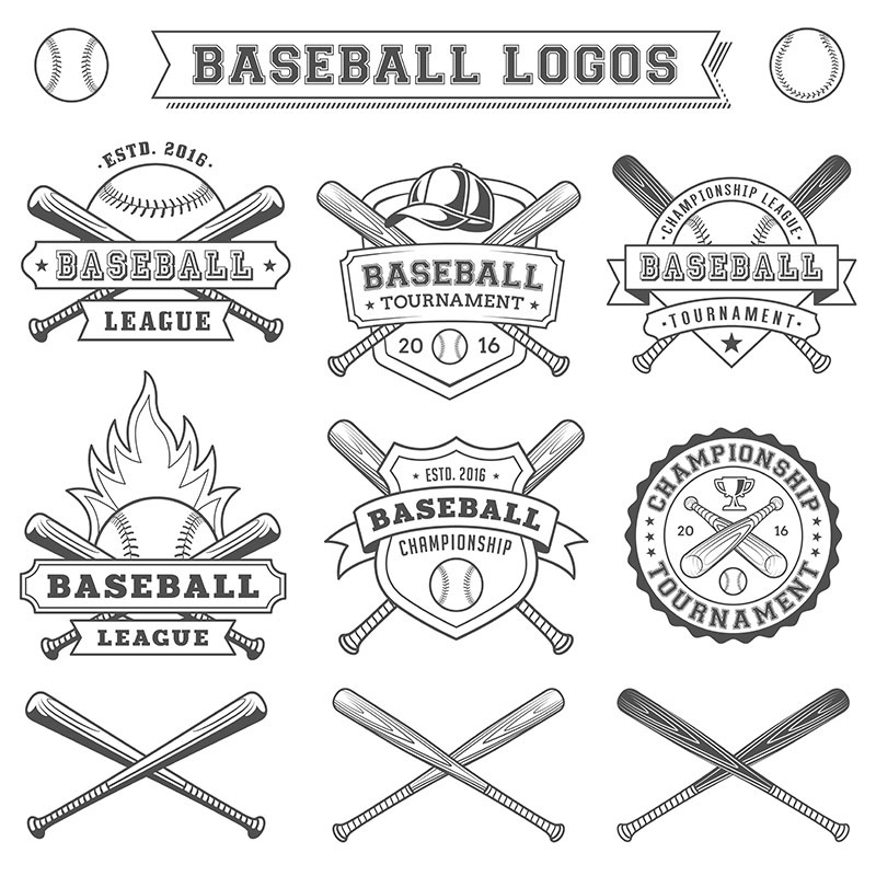 Illustrazioni baseball