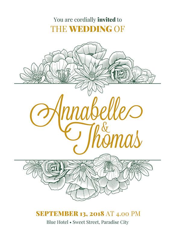 illustrazioni wedding